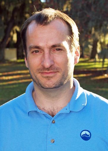 Skidaway Institute's Aron Stubbins